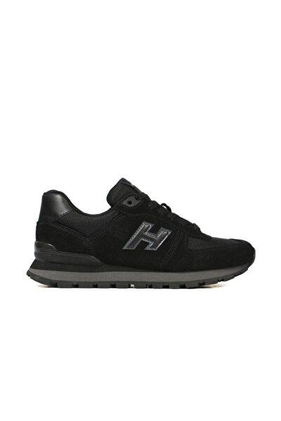 Hammer Jack Unisex Siyah Peru Spor Ayakkabı 19250 G