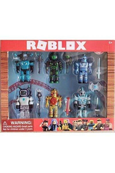 Roblox Master Of Roblox 6 Figürlü Aksesuarlı Set Oyuncak Yeni Versiyon