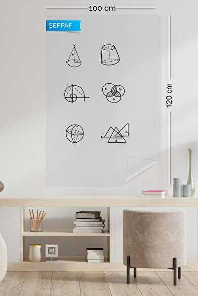 Evbuya Şeffaf Akıllı Kağıt 100 120 cm