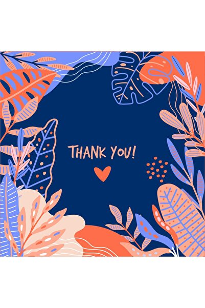 TELLGRAF Teşekkür Kartı (5,4X5,4)100 Adet