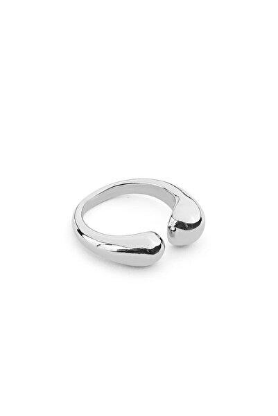 İpekyol Kadın Metalik Akışkan Metal Uçlu Yüzük IS1210060046
