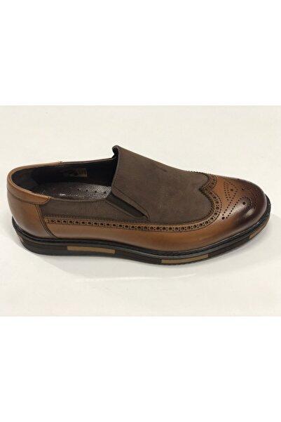 Clasmen Erkek Kahverengi Klasik Topuklu Ayakkabı