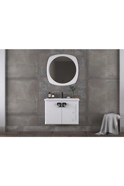 Pierre Cardin Star Banyo Dolabı 80 Cm Antik Beyaz