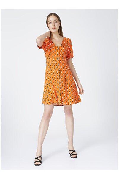 Fabrika Kadın Turuncu Elbise