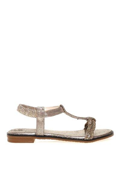 Fabrika Kadın Altın Sandalet