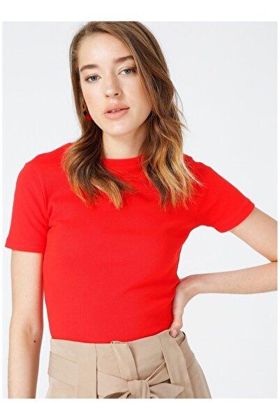 Fabrika Kadın Kırmızı Tişört