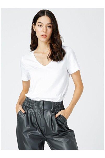 Fabrika Kadın Beyaz Tişört