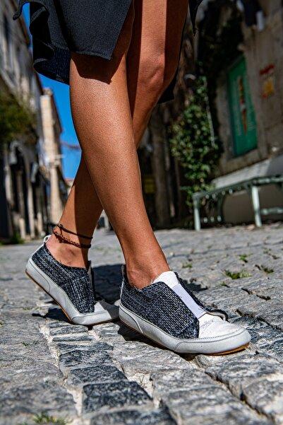 Güneşkızı Eagle Eye Sneaker / Tasarım Baskılı Vegan / Guki35 Sneakers Kadin Ayakkabi