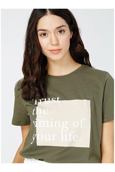 Fabrika Kadın Haki  T-Shirt