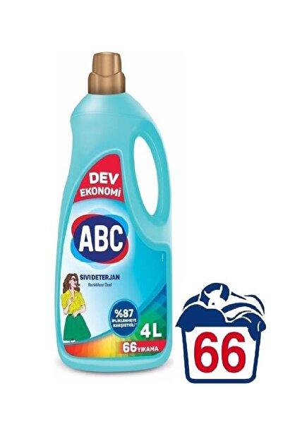 ABC Sıvı Çamaşır Deterjanı Renkliler Için 4 Lt