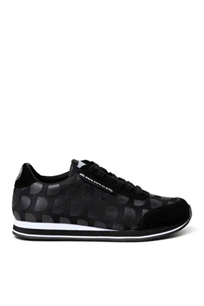 Desigual Kadın Siyah Pegaso Logomania Negro Sneaker