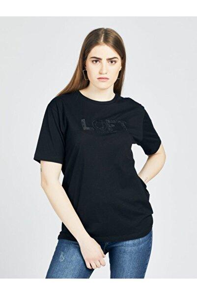 Loft 2026722 Kadın T-shırt Short Sleeve