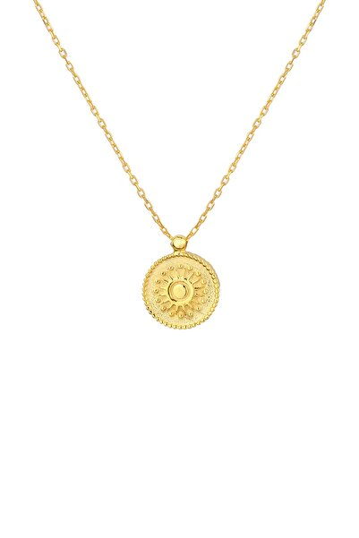 Gimora Beauty Of Life Madalyon Gümüş Kolye