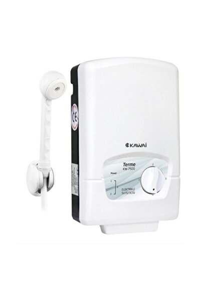 Kawai Terme KW-7500 Elektrikli Şofben Ani Su Isıtıcı