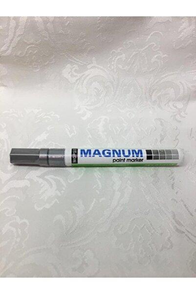 MAGNUM Paint Marker Metalik Gümüş Kalem