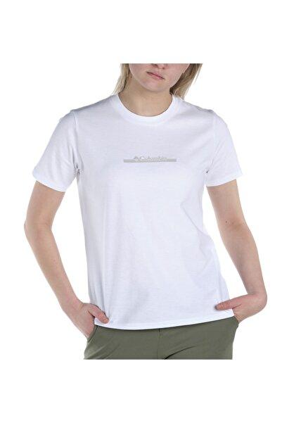Columbia Csc W Bar Split Graphic Kısa Kollu Kadın T-shirt