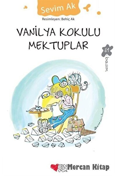 Can Çocuk Yayınları Vanilya Kokulu Mektuplar Ciltsiz