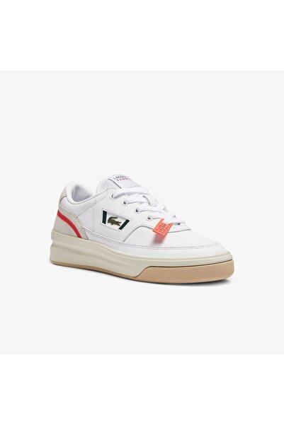 Lacoste G80 0721 1 Sfa Kadın Beyaz - Pembe Sneaker 741SFA0040