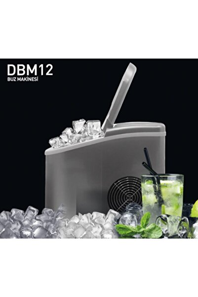 Dijitsu 12kg Dbm 12 Buz Makinesi