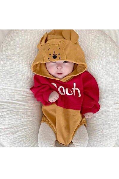 BİR BEBEK Icon Babies Winnie The Pooh Baskılı Kapşonlu Çıtçıtlı Sweet 1005261