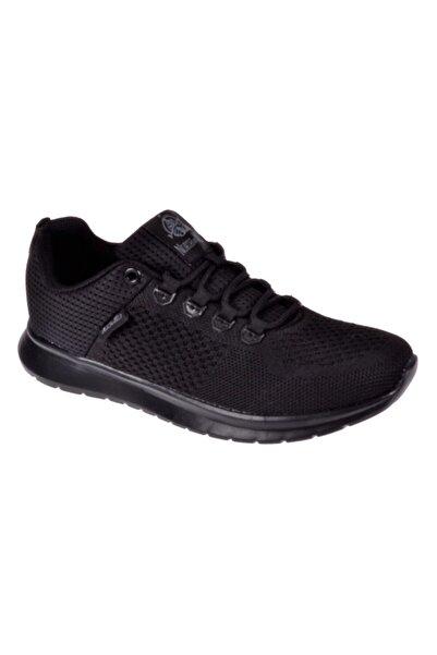 Friendly Memory Foam Kadın Siyah Bağcıklı Kadın Spor Ayakkabı Sneakers Mustang-g