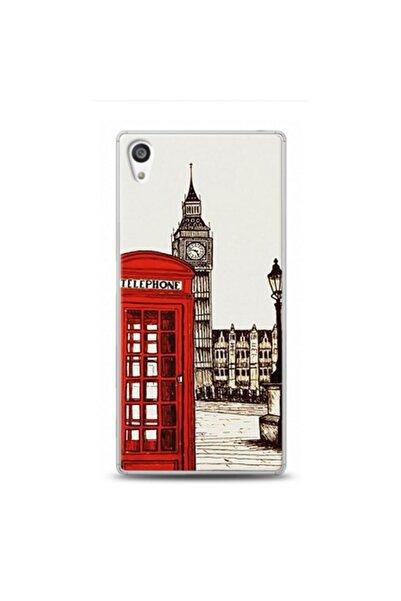 EXCLUSIVE Sony Xperia Z5 Premium London Telefon Desenli Kılıf