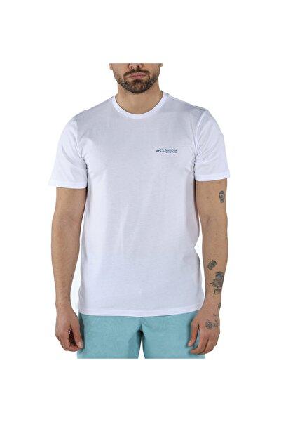 Columbia Pfg Triangle Print Graphic Kısa Kollu Erkek T-shirt