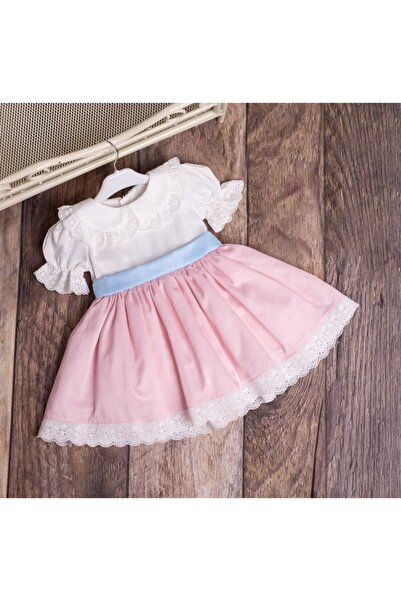 Le Mabelle Kız Çocuk Pembe Elbise