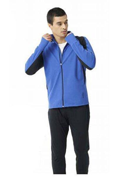 Blackspade Erkek Mavi Spor Fermuarlı Ceket 70047