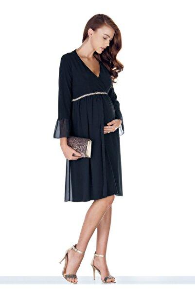Ebru Maternity Hamile Abiye Elbise 3829