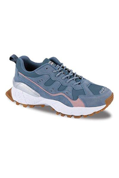 Jump Kadın Mavi Trekıng Spor Ayakkabı 25760