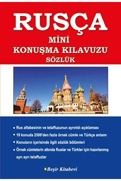 Beşir Kitabevi Rusça-türkçe -- Türkçe-rusça Mini Konuşma Kılavuzu Dilbilgisi