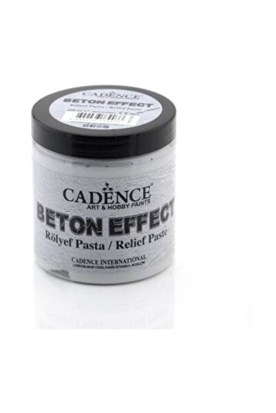 Cadence Beton Effect Rölyef Pasta 250 ml. (350 gr.)