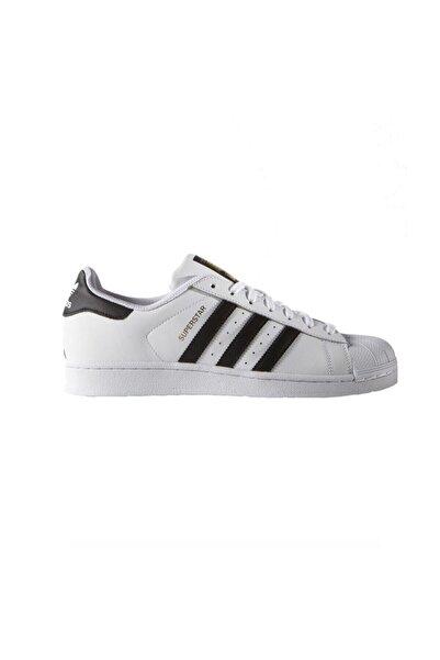 adidas SUPERSTAR FOUNDATION Beyaz Siyah Erkek Sneaker 100183487
