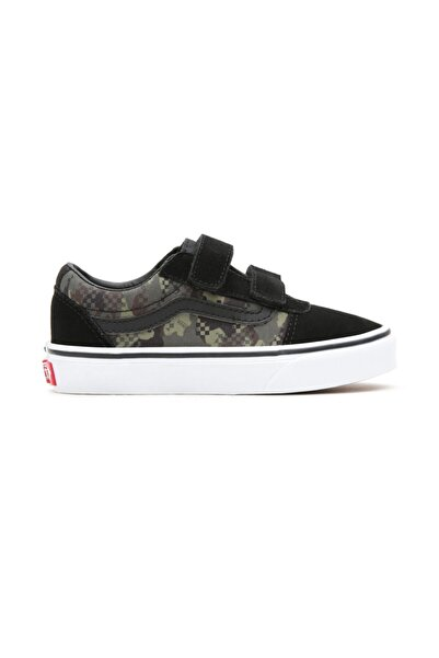 Vans Yt Ward V Mixed Camo Erkek Çocuk Sneaker