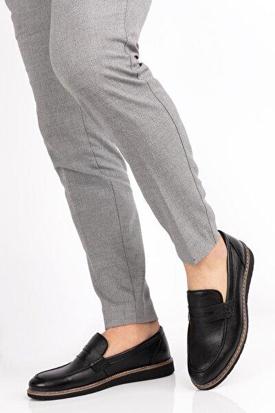 depderi Erkek Hakiki Deri 5 Renk Deri Loafer Ayakkabı