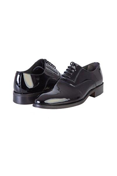 Kiğılı Bağcıklı Klasik Rugan Deri Ayakkabı