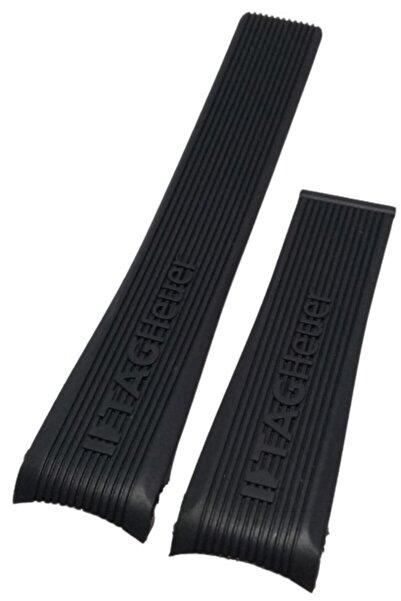 Tag Heuer Mercedes Siyah Silikon Saat Kordonu 24/20mm