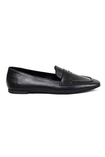 Greyder Kadın Siyah Deri Fashıon Casual Ayakkabı