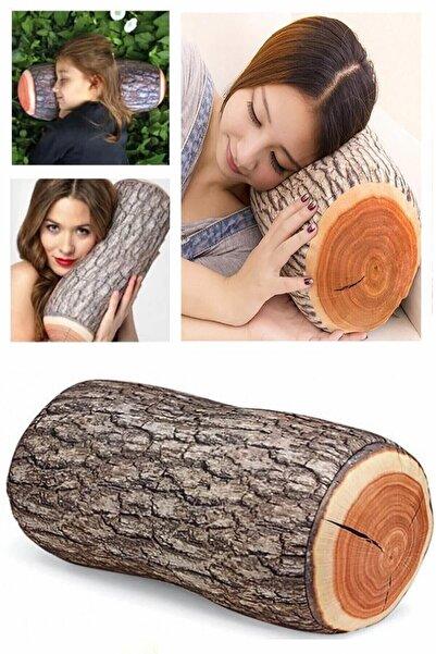 Practika Odun Şeklinde Kütük Yastık J74