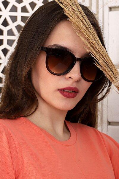 Della Pianto Kadın Kahverengi Paula Green Güneş Gözlüğü