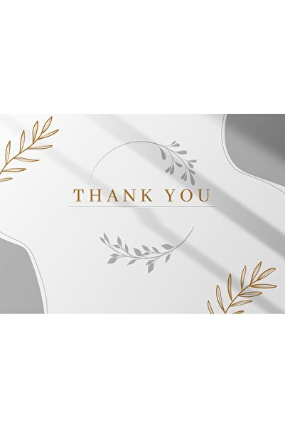 TELLGRAF Teşekkür Kartı (5.5X8.5)100 Adet
