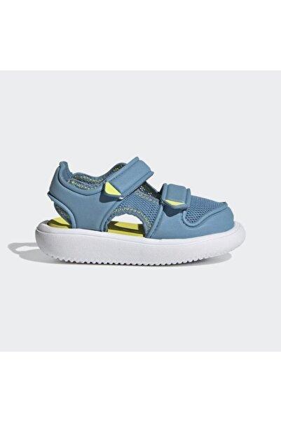 adidas Unisex Çocuk Mavi Comfort Sandalet Fy8051