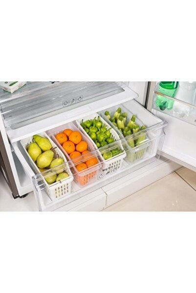 Dünya Plastik Buzdolabı Düzenleyici 4'lü Set