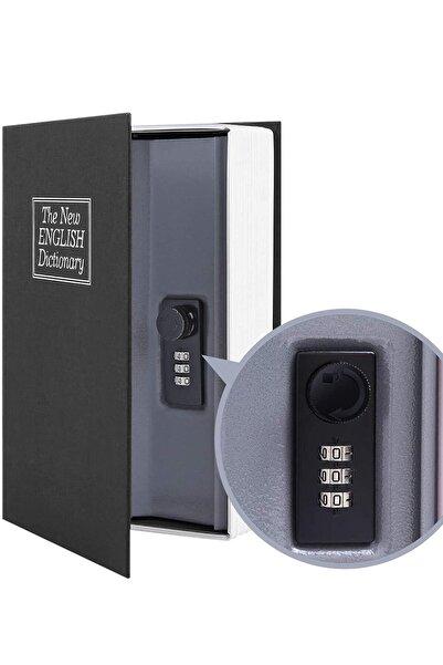 Mühlen Secret Safe 240 Büyük Boy Kitap Şekli Gizli & Şifreli Para Ve Değerli Eşya Kasası