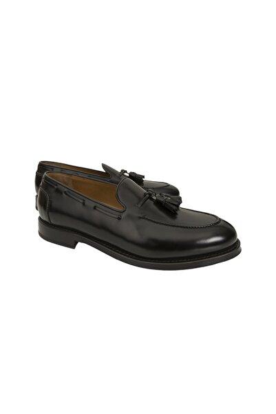 BROOKS BROTHERS Erkek Siyah Golden Fleece Loafer Ayakkabı
