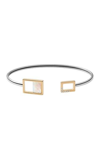Skagen Kadın Altın Rengi Metalik Gri Bileklik Skj1428-998