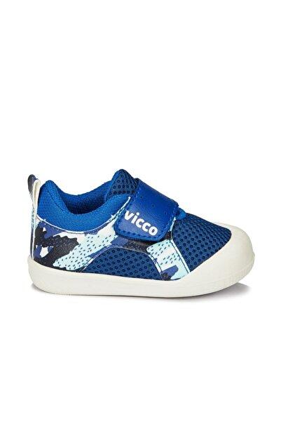 Vicco Mila Erkek Çocuk Saks Mavi Ilk Adım Ayakkabı