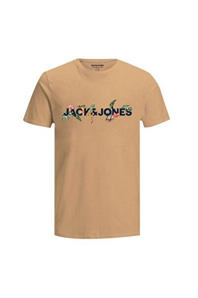 Jack & Jones Erkek Sarı Tişört