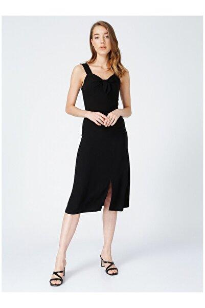 Fabrika Kadın Siyah Askılı Elbise